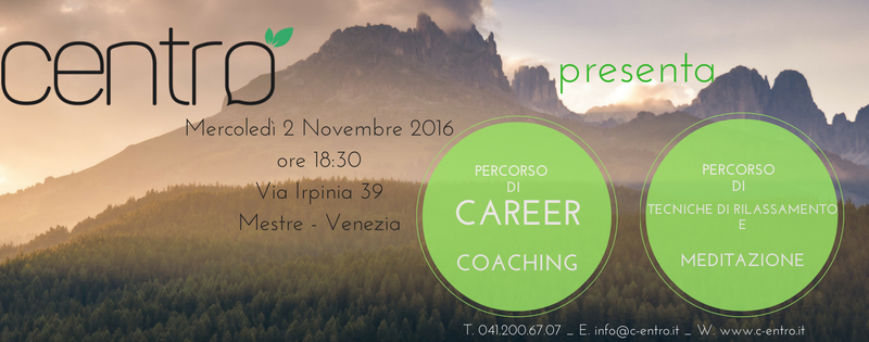 Tecniche Rilassamento Career Coaching